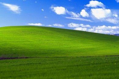 El fondo de pantalla de Windows XP cumple 20 años