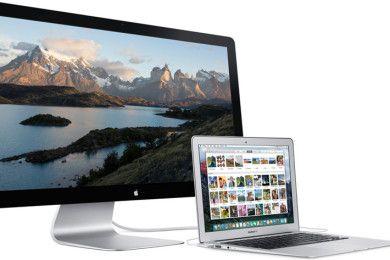 Monitores Apple Cinema Display ¡con gráfica integrada!