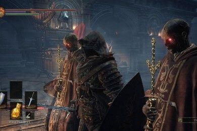 Así se juega a Dark Souls 3 con alfombrillas de baile