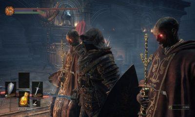 Así se juega a Dark Souls 3 con alfombrillas de baile 84