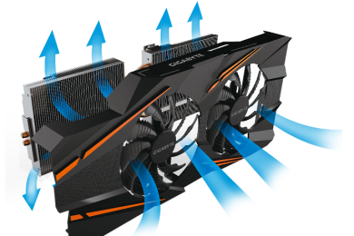Nueva GTX 1070 Windforce OC con doble ventilador