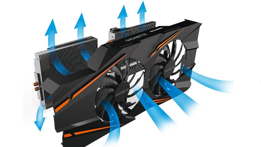 Nueva GTX 1070 Windforce OC con doble ventilador 29