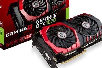 Llegan las GTX 1070 personalizadas con rendimiento/precio sobresaliente