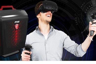 Así es la mochila para VR, MSI Backpack