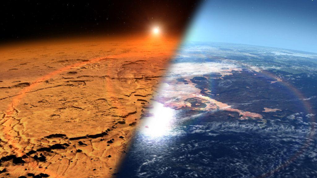 Marte estuvo expuesto a una intensa actividad volcánica 30