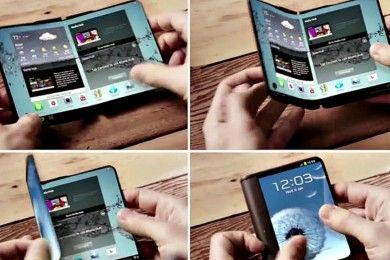 Samsung tendría su primer smartphone realmente flexible en 2017