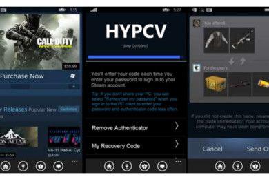Steam para Windows Mobile ya está disponible