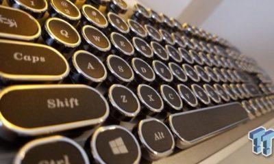 AZIO sorprende con un teclado inspirado en máquinas de escribir 112