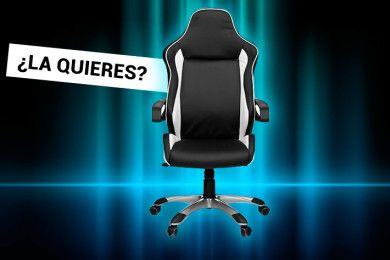 ¡Esta silla gaming puede ser toda tuya!