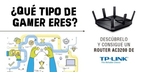 Descubre qué tipo de gamer eres y gana un router TP-LINK de última generación
