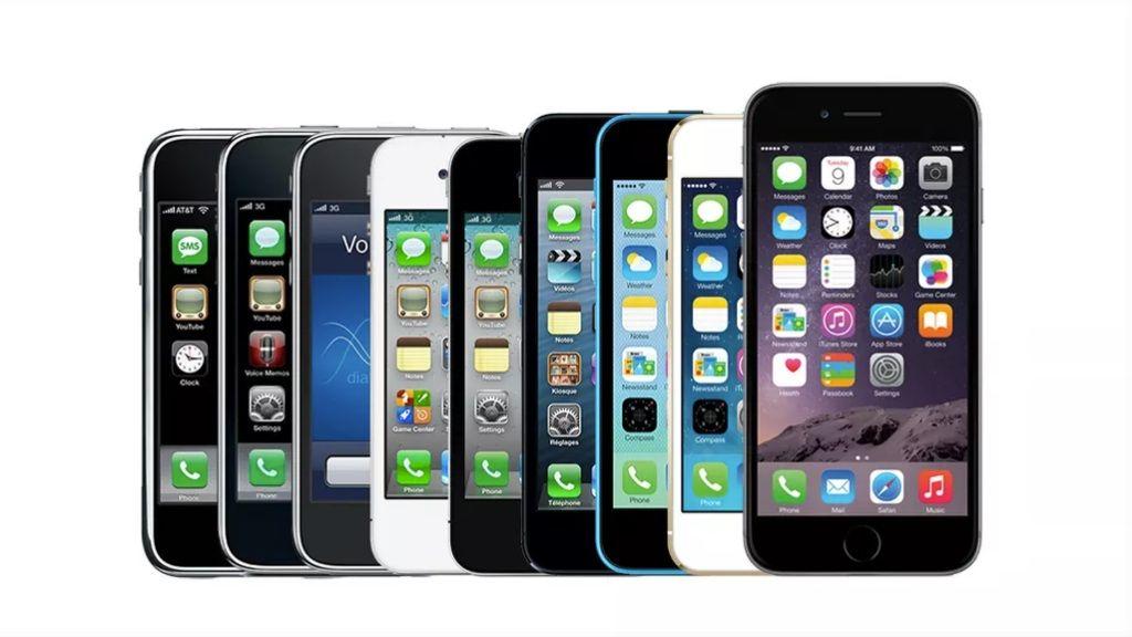 La evolución del iPhone en imágenes 29