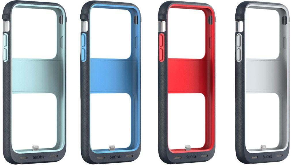 Sandisk presenta carcasa para iPhone con almacenamiento integrado 28