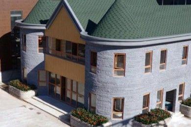 Esta impresionante casa se imprimió en 3D en apenas 45 días