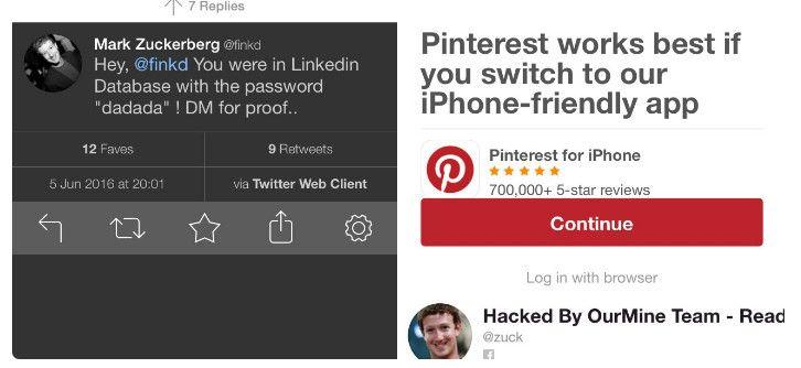Hackean las cuentas de Mark Zuckerberg de Twitter y ...