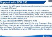 Filtrada guía de desarrollo de PS4 NEO, especificaciones 38
