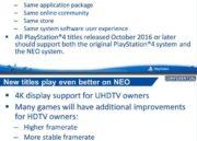 Filtrada guía de desarrollo de PS4 NEO, especificaciones 32