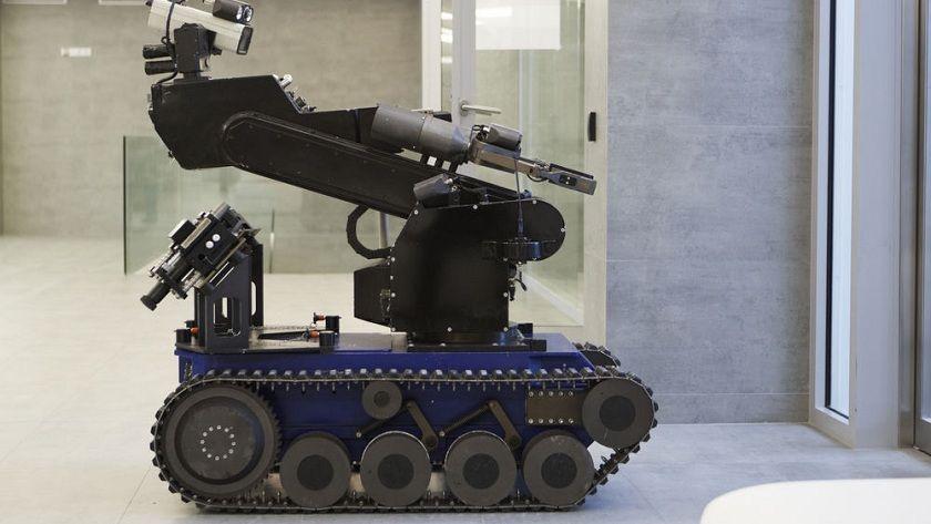La policía utiliza un robot bomba para matar a un tirador 29