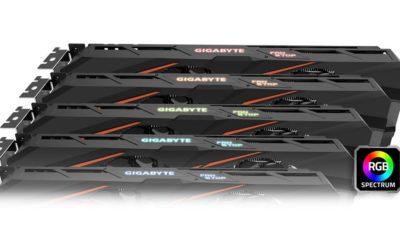 GIGABYTE presenta cuatro tarjetas gráficas GeForce GTX 1060 64