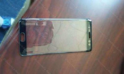 Este sería el frontal del Galaxy Note 7 con escáner de iris 113