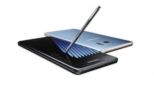 Filtración masiva del Galaxy Note 7, precios y especificaciones