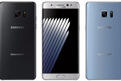 Galaxy Note 7 edge en vídeo, versión estándar en una imagen