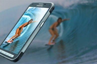 El Galaxy S7 Active falla prueba de inmersión en agua