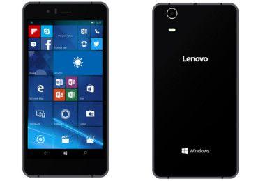 Lenovo presenta su primer smartphone con Windows 10 Mobile