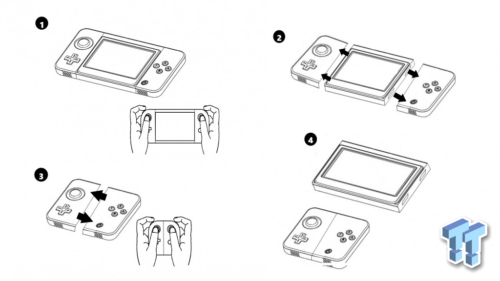 Esta imagen deja ver cómo podría ser Nintendo NX