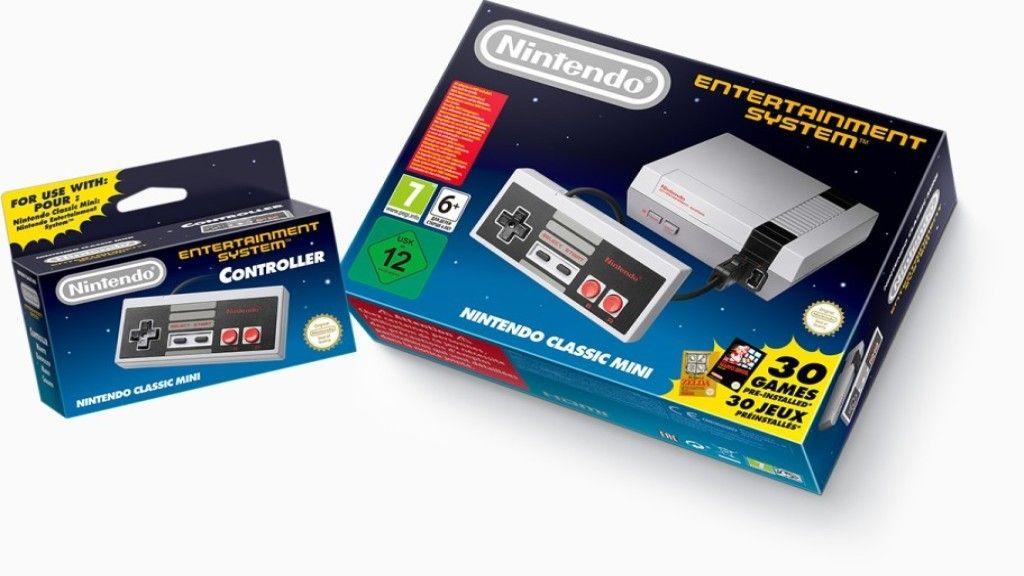 Nintendo no lanzará más juegos para la NES Mini 30
