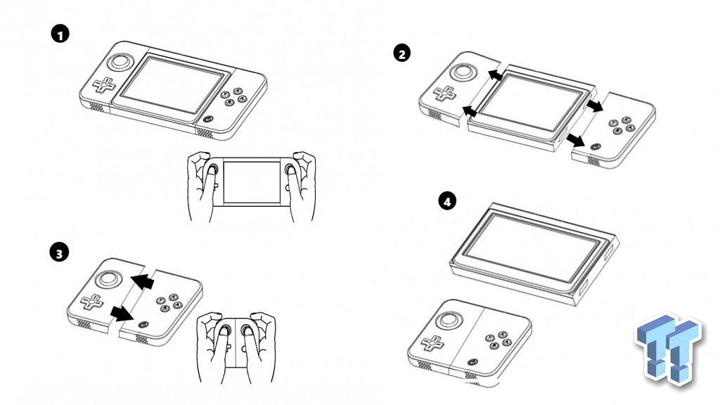 Esta imagen deja ver cómo podría ser Nintendo NX 29