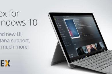 Ya está disponible Plex para Windows 10