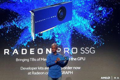 AMD presenta nuevas gráficas profesionales Radeon Pro: 90 FPS 8K