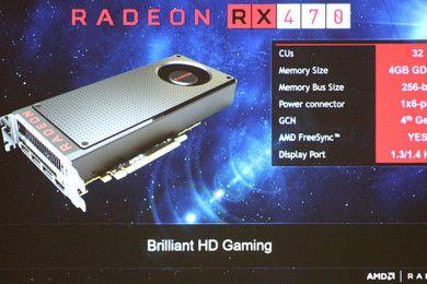 Radeon RX 470 y RX 460, especificaciones y precio