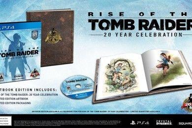 Rise of Tomb Raider llegará a PS4 en una edición especial