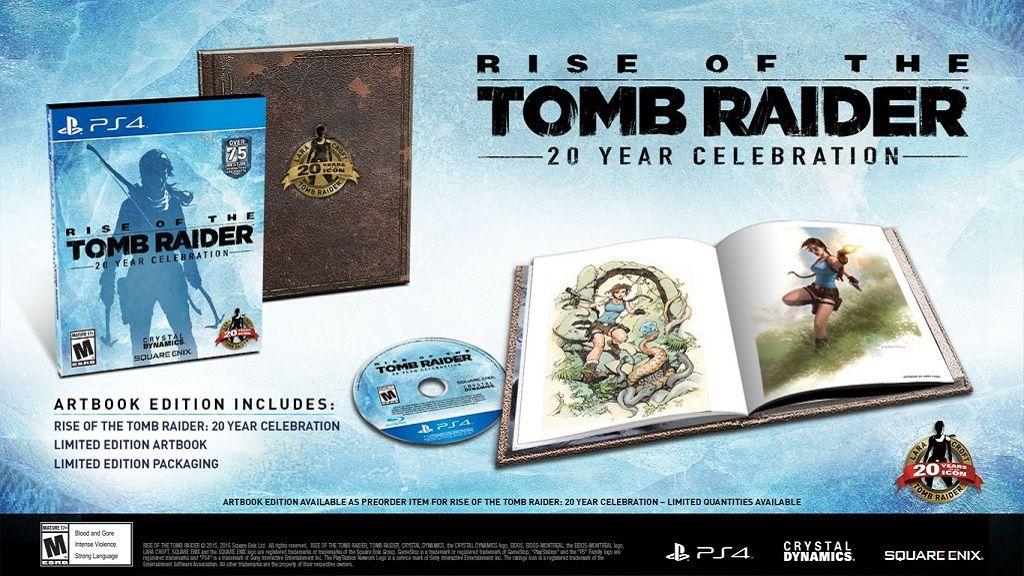 Rise of Tomb Raider llegará a PS4 en una edición especial 29