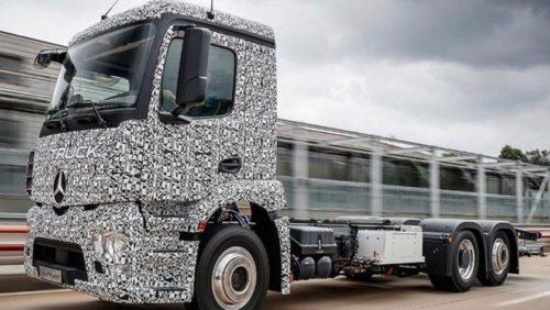 Mercedes Urban eTruck, el primer camión totalmente eléctrico