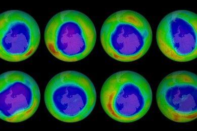 La capa de ozono se va recuperando poco a poco