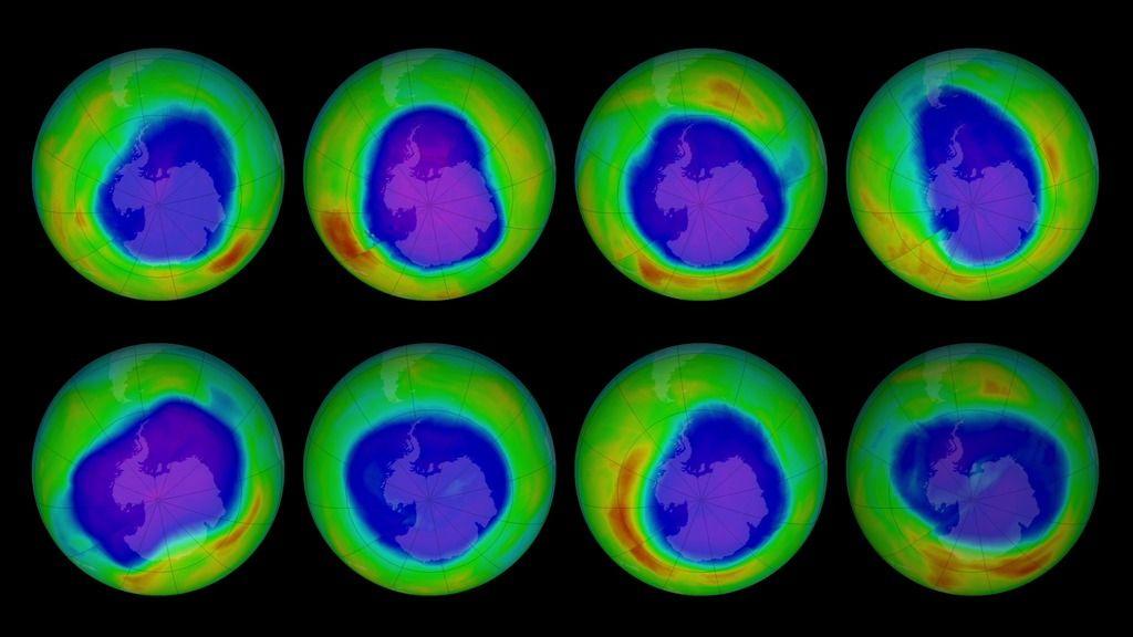 La capa de ozono se va recuperando poco a poco 30