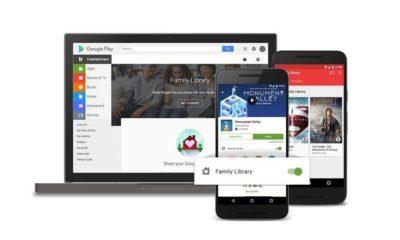 Llega Google Play Family Library, comparte tus contenidos 29