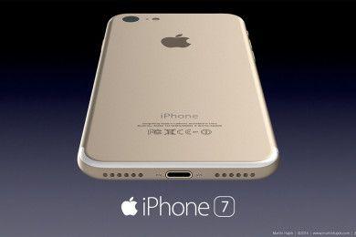 Esta sería carcasa trasera del iPhone 7