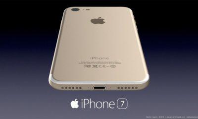 Esta sería carcasa trasera del iPhone 7 83