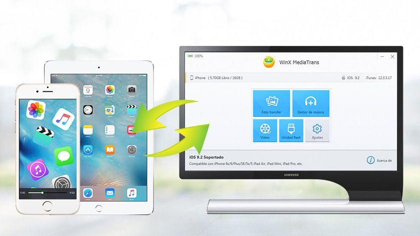WinX MediaTrans, una excelente alternativa a iTunes para sincronizar tus dispositivos iOS 31