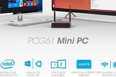 Star Cloud PCG61, miniPC económico con Ubuntu o Windows 10