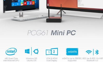 Star Cloud PCG61, miniPC económico con Ubuntu o Windows 10 61
