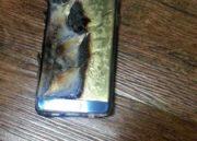 Un Galaxy Note 7 arde mientras se estaba cargando 32