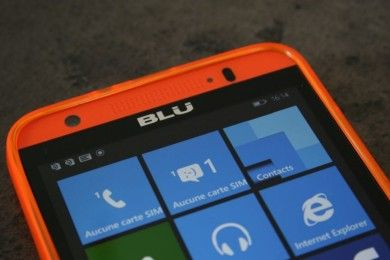 ¿Ha tirado BLU la toalla con Windows Phone? Parece que sí