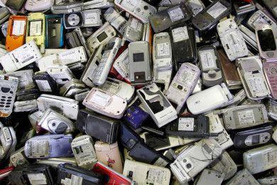 Medallas olímpicas hechas de basura electrónica en Japón 2020