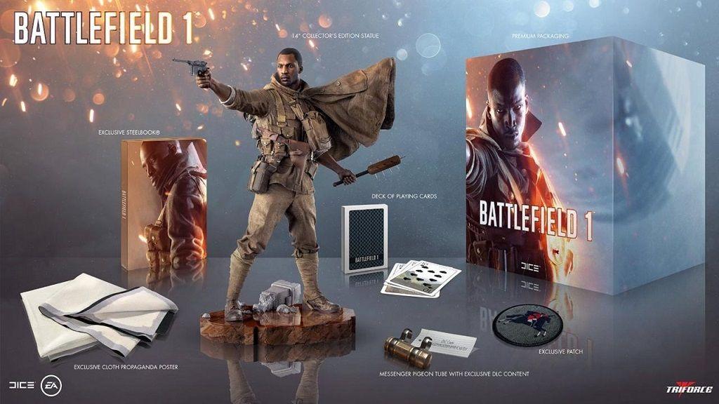 La edición de 130 dólares de Battlefield 1 viene sin el juego 30