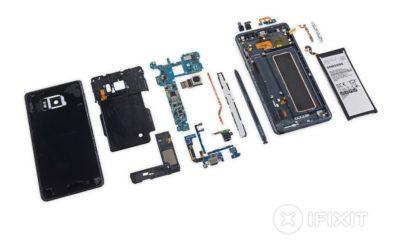 iFixit desmonta el Galaxy Note 7 y lo puntúa con un 4 sobre 10 88