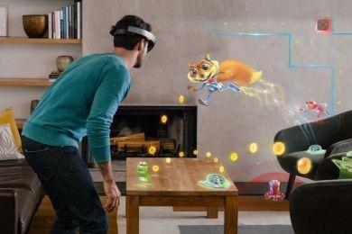 Así lucen Super Mario Bros y otros clásicos en HoloLens de Microsoft